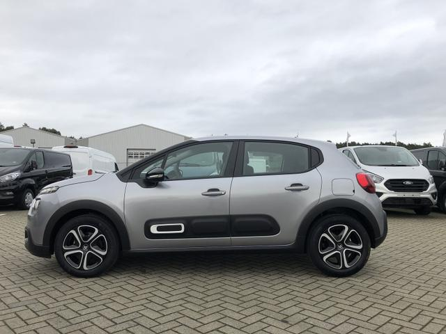 Citroën C3 - 1.2 83PS Feel Pack AirBump Neues Modell LED-Scheinw. Klimatronic Citroen-Radio mit Bluetooth DAB+ 7''-Touchscreen Apple CarPlay Android Auto Tempomat 16''-3D-Designkappen