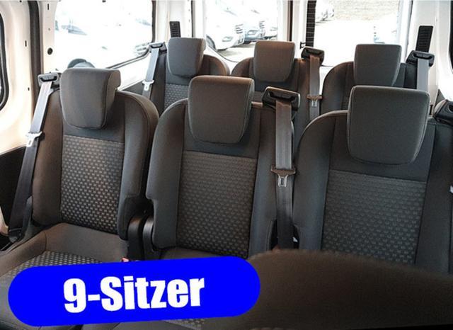 Lagerfahrzeug Ford Transit Custom - Kombi 9-Sitzer L1 1.0 EcoBoost Plug-in-Hybrid 125PS Automatik Trend Sitzheizung Klima Radio mit Bluetooth PDC v h Frontscheibe beheizb.