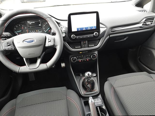 Fiesta 1.0 EcoBoost 95PS ST-Line 5-türig Winterpaket Navi-Ford abged.Scheiben Keyless Klimaautomatik SYNC 3 DAB+ Bluetooth 8''-Touchscreen Apple Carplay Android Auto PDC v+h