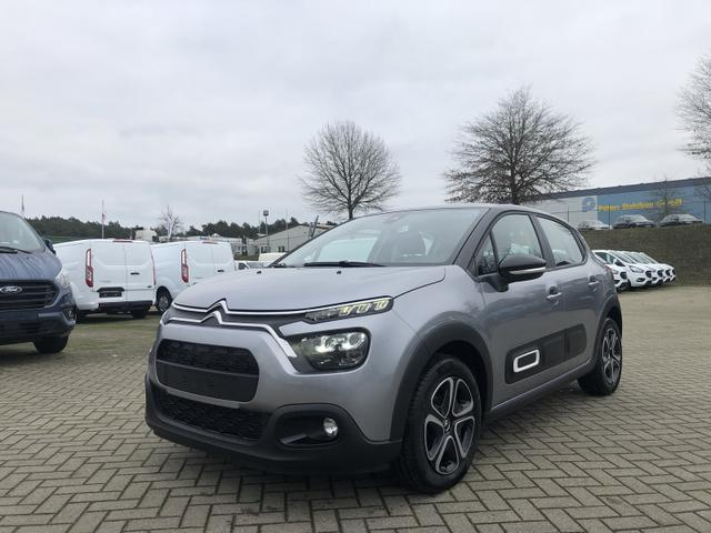 Gebrauchtfahrzeug Citroën C3 - 1.2 83PS Feel Pack AirBump Neues Modell LED-Scheinw. Klimatronic Citroen-Radio mit Bluetooth DAB  7''-Touchscreen Apple CarPlay Android Auto Tempomat 16''-3D-Designkappen