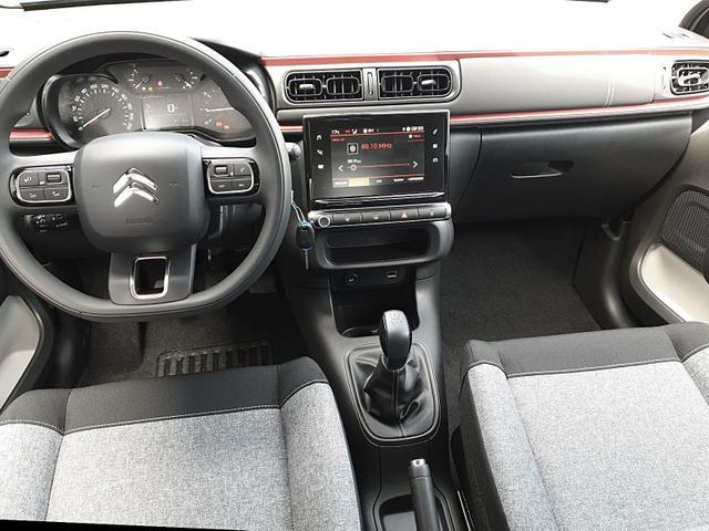 C3 1.2 83PS C-Series AirBump 5-türig Neues Modell LED-Scheinw. Klimatronic PDC Citroen-Radio mit Bluetooth DAB+ 7''-Touchscreen Apple CarPlay Android Auto 16-LM abg.Scheiben
