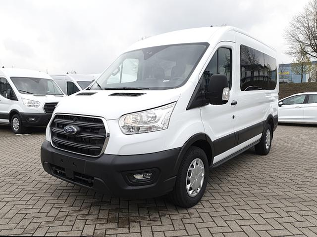 Lagerfahrzeug Ford Transit - 350 Kombi 9-Sitzer L2H2 2.0 TDCi 170PS Automatik Trend 3,5t Sitzheizung Anhängerkupplung Klima Ford-Radio SYNC 3 DAB  Bluetooth 8''-Touchscreen Apple Carplay Android Auto PDC v h Rückf