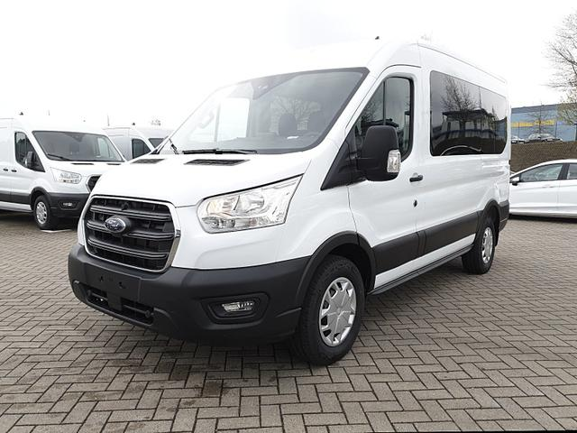 Lagerfahrzeug Ford Transit - 330 Kombi 9-Sitzer L2H2 2.0 EcoBlue Mild-Hybrid 130PS Trend 3,3t Sitzheizung Anhängerkupplung Klima Ford-Radio SYNC 3 DAB  Bluetooth 8''-Touchscreen Apple Carplay Android Auto PDC v h
