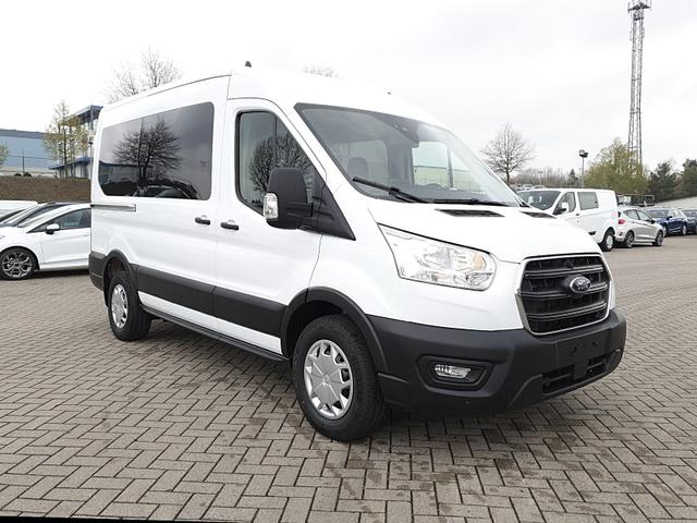 Transit 330 Kombi 9-Sitzer L2H2 2.0 EcoBlue Mild-Hybrid 130PS Trend 3,3t Sitzheizung Anhängerkupplung Klima Ford-Radio SYNC 3 DAB+ Bluetooth 8''-Touchscreen Apple Carplay Android Auto PDC v+h