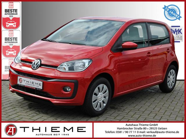 Volkswagen up! - 5trg 75PS DSG Move Up PDC/Tempomat/Shz/NWS/Sofort