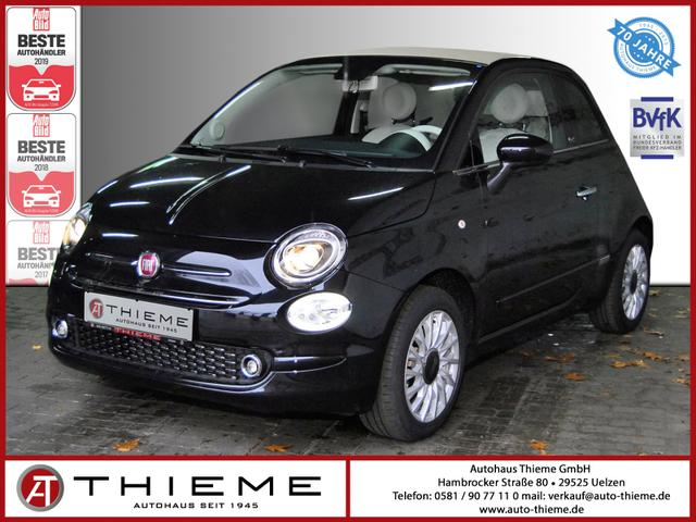 Fiat 500C - Lounge 1.2l 69 PS - SunSet/PDC/Klima/S&S/Sofort