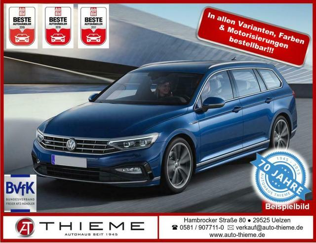 Volkswagen Passat Variant - Lux 2.0 TDI 150 PS - 3-Z-Cli/SHZ/LED/Extras