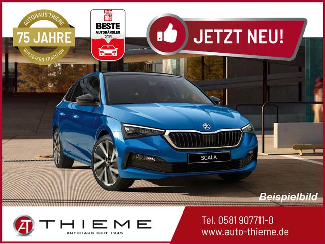 Skoda Scala - 1.5 TSI DSG Ambition LUX 125 - ShZ/LED/PDC/Assist