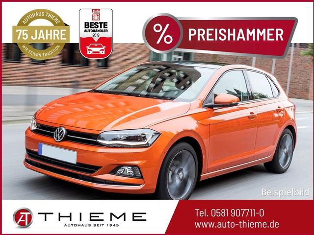 Volkswagen Polo - Highline 1.0 TSI - LED/Handy-Navi/Cam/Extras