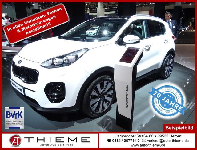 Kia Sportage - 2.0D 4WD Automatik EX-Deluxe Xenon/Navi/LM/PDC/Shz/Extras
