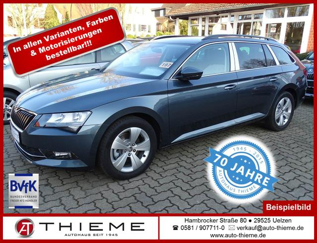 Skoda Superb Combi - 2.0l TDI 190 PS Ambition Navi/Shz/Xenon/LM/PDC/Extras