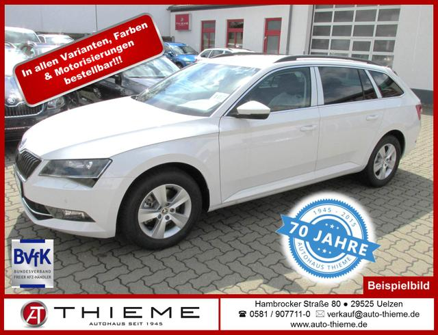 Skoda Superb Combi - 2.0l TDI 190 PS Ambition Xenon/SunSet/LM/PDC/Extras
