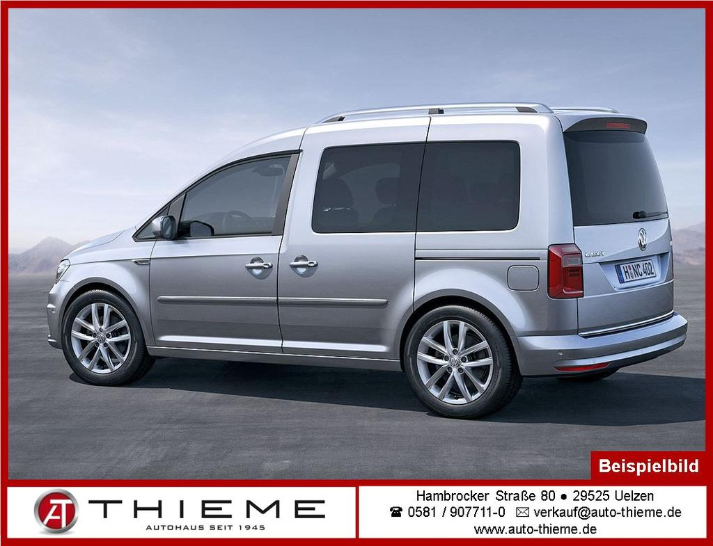 volkswagen caddy 1 4 tsi 131ps comfortline maxi 7 sitze klima lm dachreling extras auto thieme. Black Bedroom Furniture Sets. Home Design Ideas
