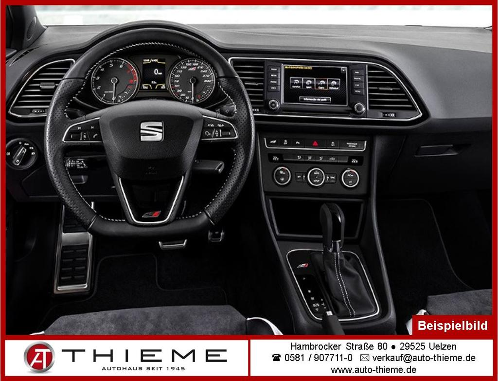 seat leon st 2 0 cupra dsg 4x4 300ps navi full led 19 lm. Black Bedroom Furniture Sets. Home Design Ideas