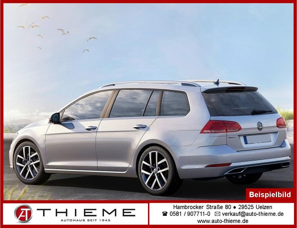 Volkswagen Golf Variant Vii 1 5 Tsi Dsg Highline Acc Climatr Lm