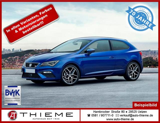 Seat Leon SC - 2.0 TDI Xcellence Climatr./Kessy/PDC/SunSet/LM