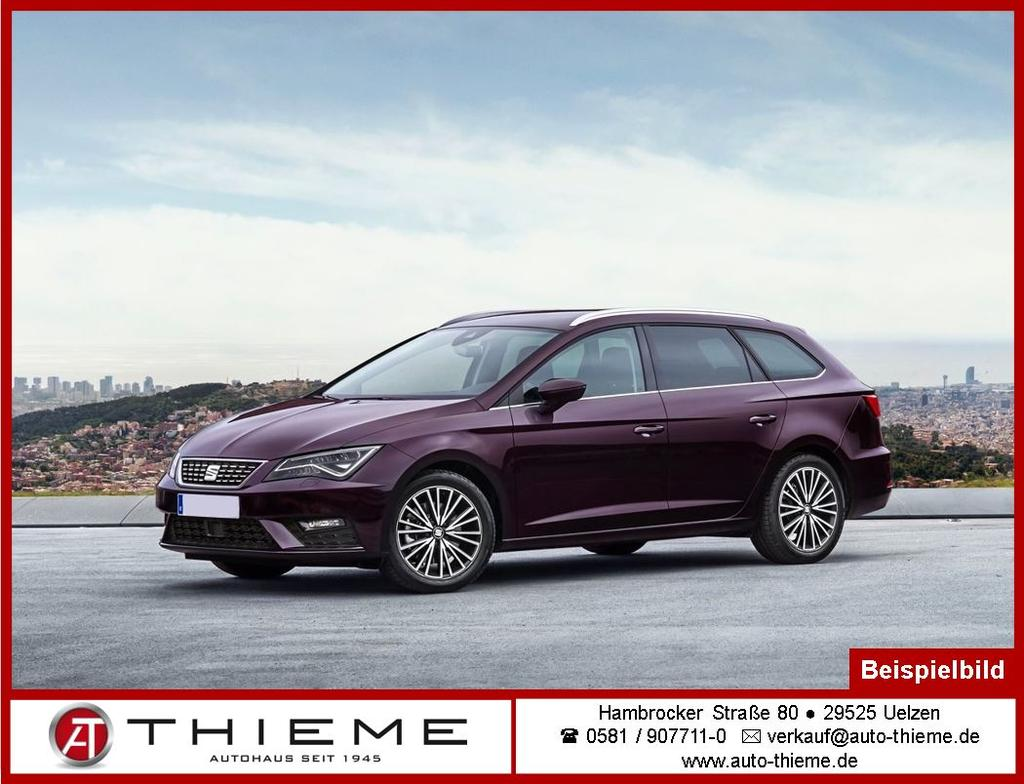 seat leon st 2 0 tdi dsg fr climatr sunset driveprofil lm auto thieme. Black Bedroom Furniture Sets. Home Design Ideas