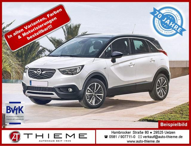 Opel Crossland X - 1.2 XHT eco Edition - Klima/GRA/Spurassistent/Multilenkrad/BT