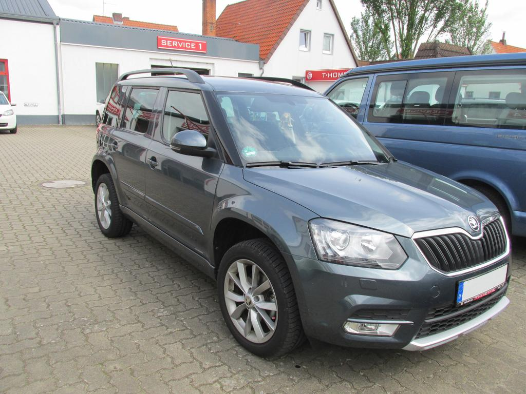 skoda yeti 2 0 tdi style sunset climatr shz pdc metallic uvm auto thieme. Black Bedroom Furniture Sets. Home Design Ideas
