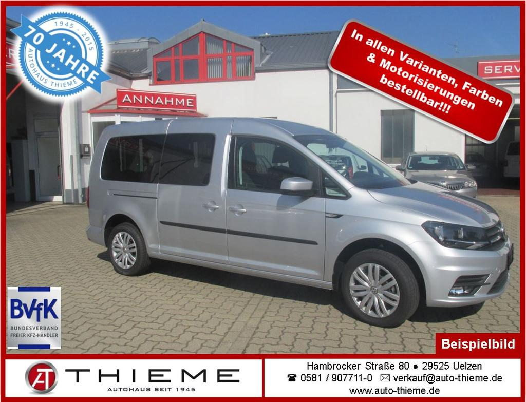volkswagen caddy 2 0 tdi trendline maxi rollstuhlumbau auto thieme. Black Bedroom Furniture Sets. Home Design Ideas