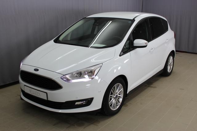 Ford C-Max - Cool & Connect 1,0 Ecoboost 125PS, Navigationssystem, Rückfahrkamera, Tempomat, 3-Speichen-Leder-Lenkrad mit Multifunktionstasten uvm.