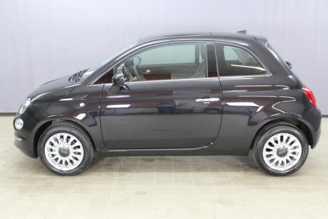 Fiat 500 Lounge, Vesuvio Schwarz.(876),