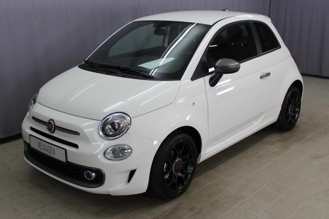 "Fiat 500S - Sport 1,2 8V City Paket, Navigationssystem, Multifunktionslederlenkrad, Berganfahrassistent, Sportsitze vorn, Tempomat, Uconnected Radio mit 7"" HD-Touchscreen uvm."
