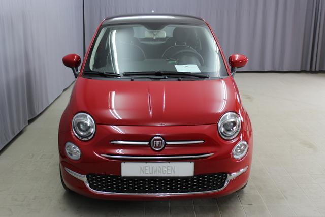 Fiat 500 - Lounge 1,2 8V UVP 18.195€, Uconnect NAVIGATION und DAB+, Apple CarPlay/Android, PDC hinten, Kühlergrill Verchromt, Klimaanlage, Glasdach feststehend, 15
