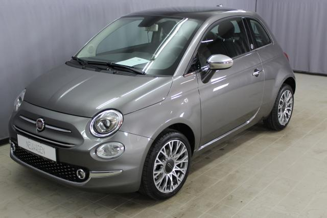 "Fiat 500 - Lounge Mirror 1,2 8V UVP 18885, CITY PAKET, Uconnect Radio mit 7"" HD Touchscreen Apple Android, Klimaautomatik, 16 Zoll Leichtmetallräder, Nebelscheinwerfer, volldigitales Bordinstrument 7 uvm. Lagerfahrzeug"