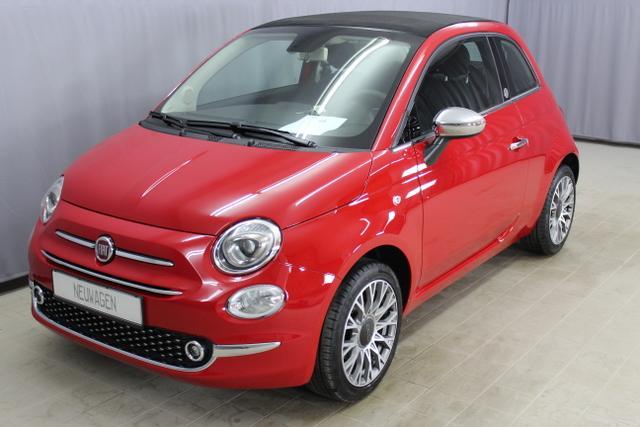 Fiat 500C - Mirror / Lounge 1,2 V8 Klimaautomatik, 16
