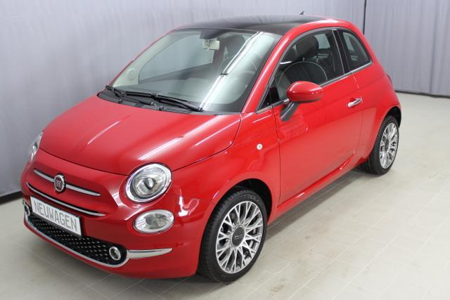 "Fiat 500 - Lounge 1,2 8V Klimaautomatik, 16""-Leichtmetallfelgen, Nebelscheinwerfer, Multifunktionslederlenkrad, Tempomat, Uconnected Radio 5"" Touchscreen uvm Lagerfahrzeug"