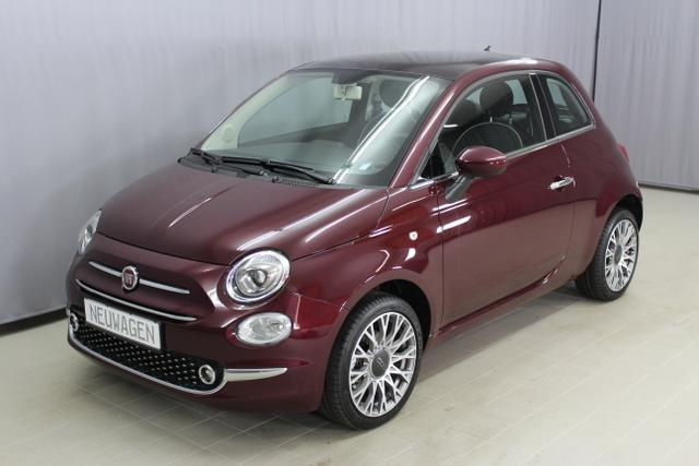 "Fiat 500 - Lounge 1,2 8V Klimaautomatik, 16""-Leichtmetallfelgen, Uconnected Radio 5"" Touchscreen, Nebelscheinwerfer, Tempomat, uvm. Lagerfahrzeug"