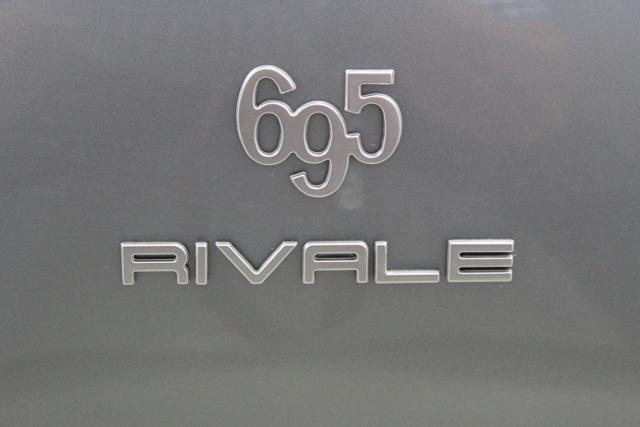 Abarth 695C Rivale, 595C 695 CABRIO Rivale 1,4 T Jet 132kW 180 PS, 032 Bicolore Sera Blau/Shark Grau + Aquamarina Zierstreifen494 Leder BlauDach Blau