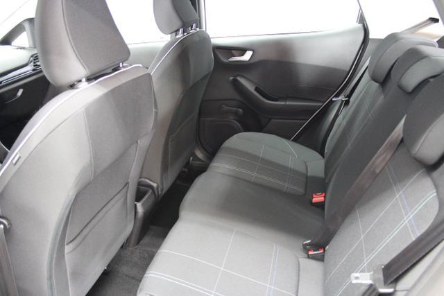 Ford Fiesta 1.0 EcoBoost 100PS 5-Türer SYNC Edition / Weiss / Stoff schwarz