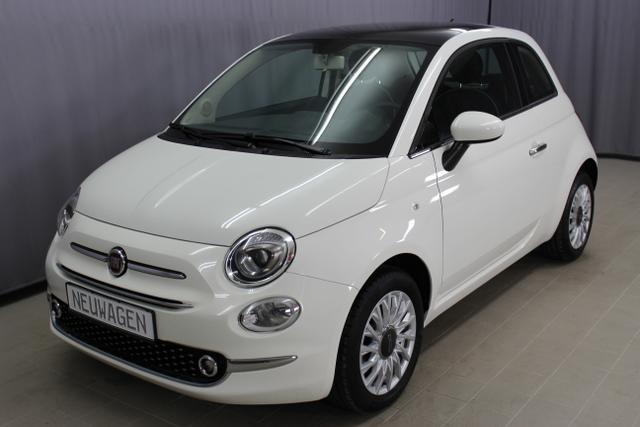 Fiat 500 - Lounge 1,2 8V, Sie sparen 7070€ = 43% , ANGEBOT DES MONATS, Klima, Panorama-Glas-Dach, Uconnect Radio, Freisprecheinrichtung, Bluetooth, Multifunktionslederlenkrad, Touchscreen uvm.