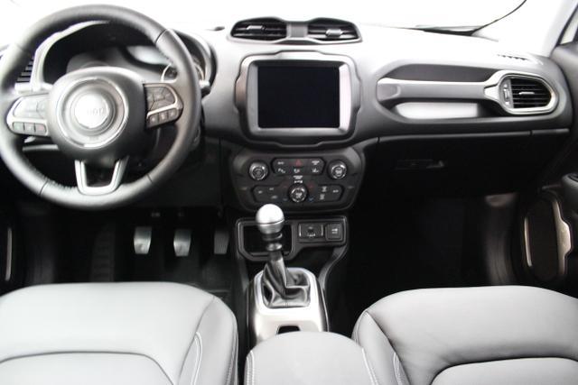Jeep 1.4l MultiAir  103 (140 )  Front 6-Gang- Schaltgetriebe296-ALPINE WHITE402-211 Leder schwarz/schwarz