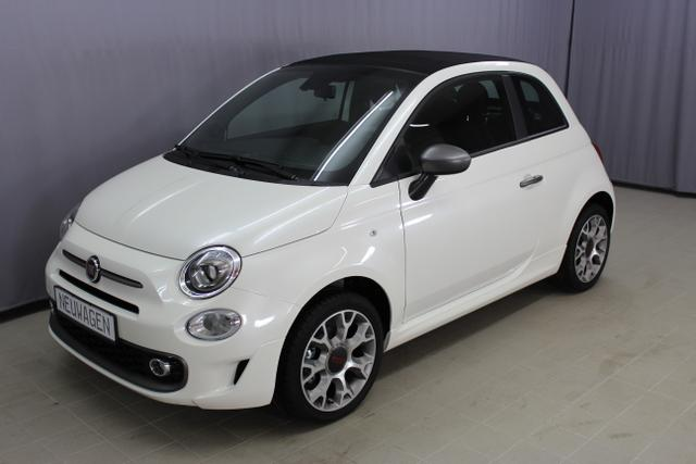 "Fiat 500C - Sport 1,2 8V Teilleder, CITY PAKET, Uconnect Radio mit 5""-Touchscreen, Klimaautomatik, Sport-Lederlenkrad Multifunktionstasten uvm."