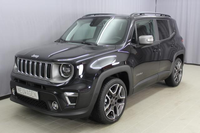 Jeep Renegade - Limited 1.0l T-GDI Sie sparen 8840 Euro 88kW (120PS) Leder, Navigation DAB, Apple CarPlay, Totwinkel-Assistent, LED-Paket, 19