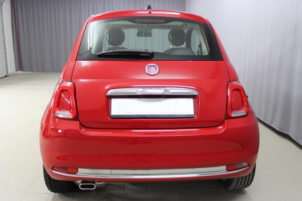 57349 Fiat 500 1,2 8V S&S  Lounge 51kW 69 PSCOC Ori - keine ausländischen Papiere AB 2.11.Euro 6 AG Euro6dtemp111 Passione Rot