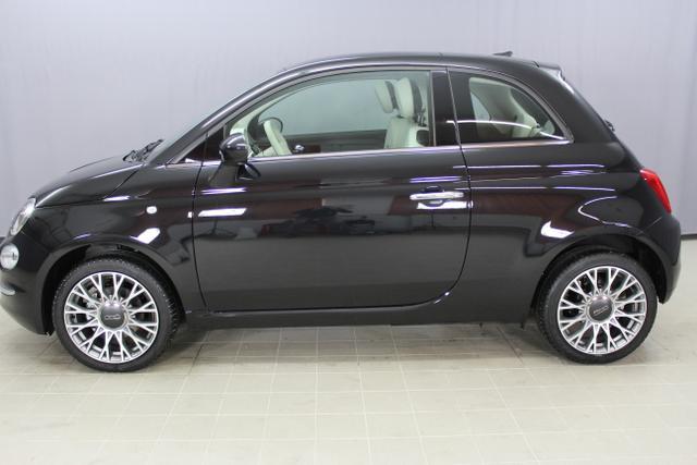 Fiat 500 - Lounge 1,2 8V UVP 18.880.- Euro, Uconnect 7'', Apple CarPlay/Android, PDC hinten, Kühlergrill Verchromt, Klimaautomatik, Glasdach feststehend, 16