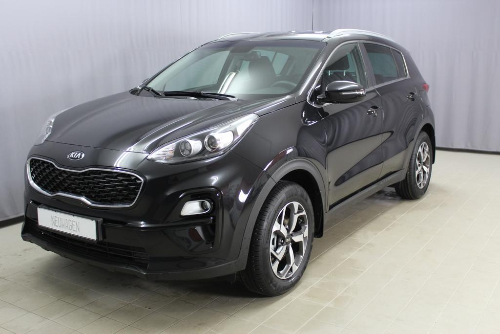7667 Kia Sportage 1,6 GDI 2 WD 132 PS Euro 6D temp - neuer Motor - Silver Edition1K Black Pearl