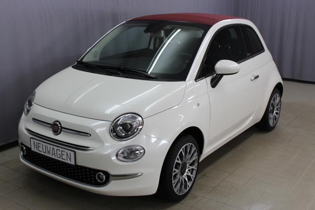 Fiat 500C - Lounge 1,2 8V Sie sparen 7205 Euro CITY PAKET, Uconnect Radio Navi Mit 7