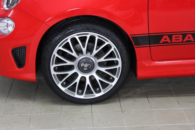 98137 Abarth 1.4 16V T-Jet mit 107 kW (145 PS)176-ROSSO PASSIONALE173-Tes. Nero