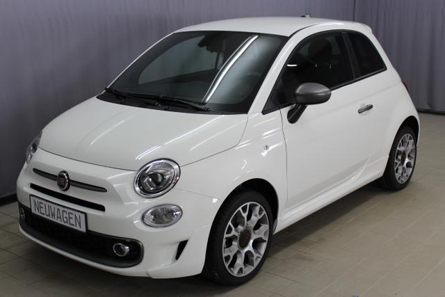 "Lagerfahrzeug Fiat 500 - Sport 1,2 8V UVP 18.960 Euro Navigationssystem Uconnect Radio mit 7""-HD-Touchscreen, City Paket, TFT-Farbdisplay, Apple Car Play, Klimaautomatik, Nebelscheinwerfer, 16""-Leichtmetallfelgen uvm."
