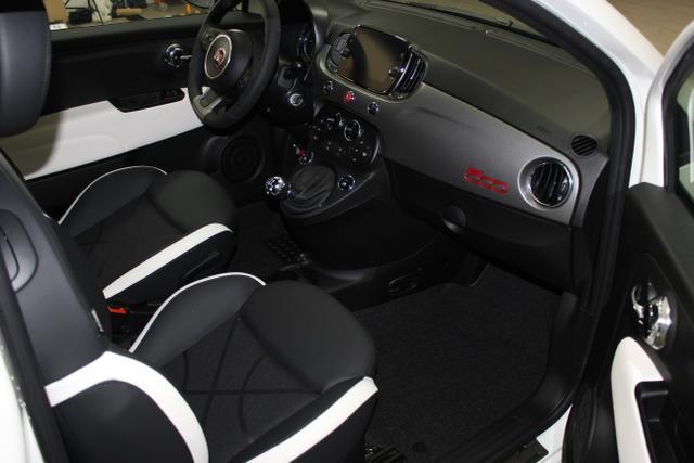 05985 Fiat 500-1.2 8V Sport 51kW (69PS) E6DGelato Weiß (268)Stoff Sport Schwarz/Weiß, Ambiente Schwarz (724)Limo