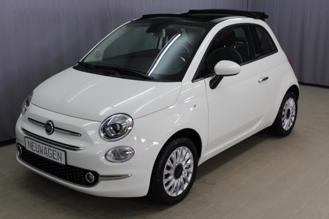 """Fiat 500C - Lounge 1,2 8V Dualogic UVP 22.035.- Uconnect Radio mit 7""""-HD-Touchscreen, City Paket, Klimaanlage, Nebelscheinwerfer, 15""""-Leichtmetallfelgen uvm."""