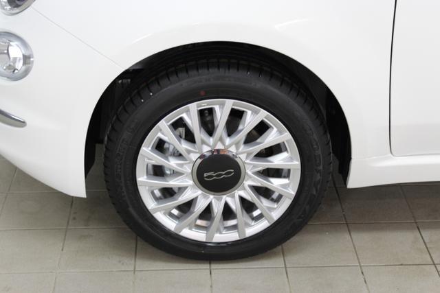 04200 Fiat 500C-1.2 8V Lounge 51kW (69PS) E6DGelato Weiß (268)Stoff Prince of Wales Schwarz/Weiß, Akzent Elfenbein, Ambiente Elfenbein, Dach Rot (681)Rot