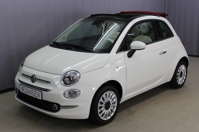 Fiat 500C - Lounge 1,2 8V Sie sparen 6.845€, Uconnect Navigationssystem Radio mit 7