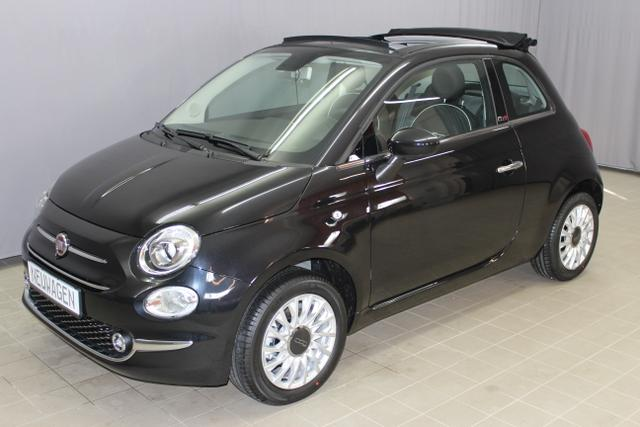 Fiat 500C - Lounge 1,2 8V Dualogic UVP 22.125.- Navigation Uconnect Radio mit 7