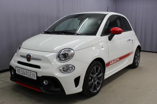 Abarth 595 - Sie sparen 5.590,00 1,4 T-Jet 145PS, Privacy Glass, Nebelscheinwerfer, Kit Estetico ROT, Analoges Manometer, Klimaanlage, 16